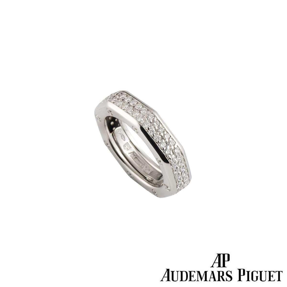 Audemars Piguet Diamond Set Royal Oak Ring